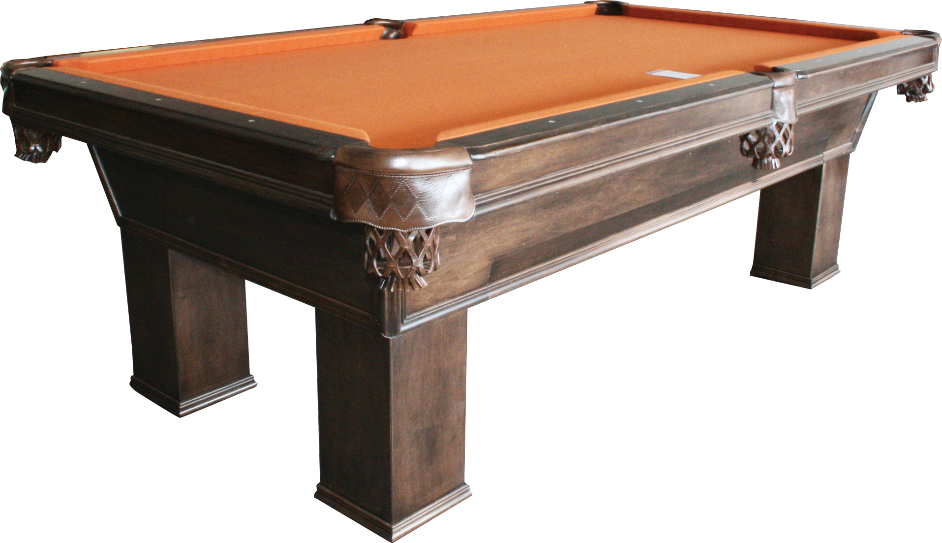 Signature harvard american pool table light walnut with for 10 pool table