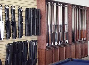 Pool Cues, Cases & Supplies | Austin Billiards