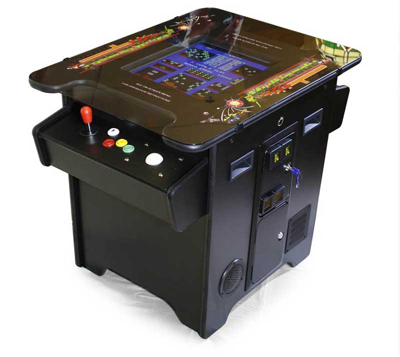 Multicade arcade video game table austin billiards for Table 6 games