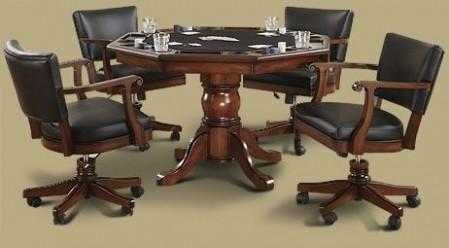 Classic Poker Table Game Set & Classic Poker Table Game Set - Austin Billiards   Austin Texas ...