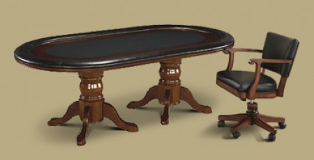 Hold Em Table With Classic ChairsGame Tables Austin Billiards Austin Texas  Premier Pool Table