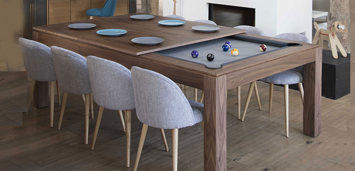 Fusion All Wood Pool Table