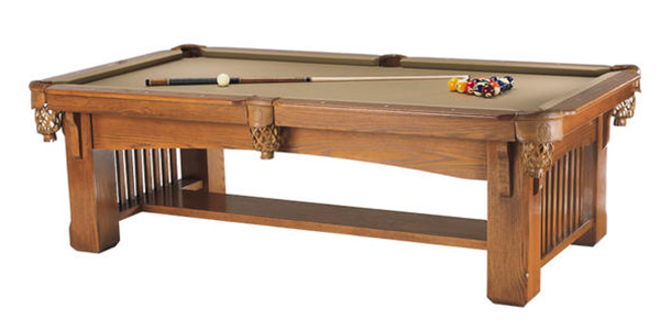 MCM-Connally-Franciscan-Pool-Table